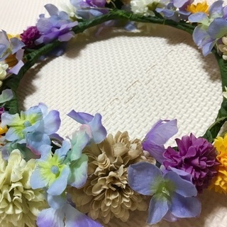 花かんむり(造花