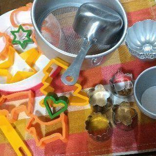 お菓子作り道具セットひとまとめ
