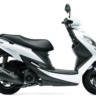 【新車】スズキ SWISH 125cc 白