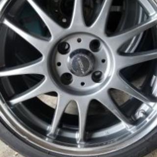 16インチクロススピードアルミホイール タイヤセット