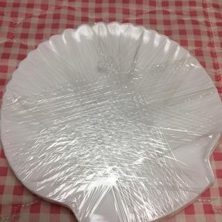 ホタテ貝の形  お皿2枚