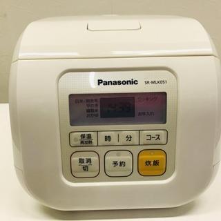 ☆121796 パナソニック 3合炊 炊飯器 12年製☆