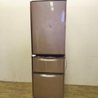 ☆121799 三菱 3ドア冷蔵庫 13年製 370L☆