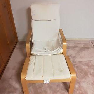 IKEA 椅子 オットマン 親子 セット - 家具