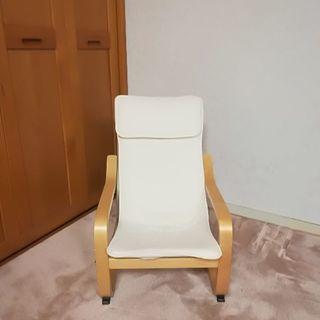 IKEA 椅子 オットマン 親子 セット − 千葉県