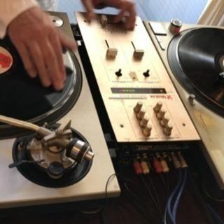 DJ  初めての人限定で教えます(*´-`) ターンテーブルとレコ...