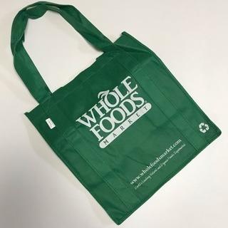 【新品】Whole Foodsバッグ(緑)の画像