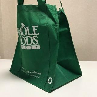 【新品】Whole Foodsバッグ(緑) - 川崎市