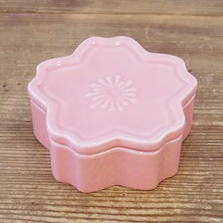 桜型 ふた付き小鉢 サクラ