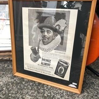 アメリカンビンテージポスター PRINCE ALBERT タバコ...