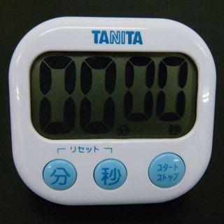 TANITAのキッチンタイマー 100円