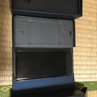 Galaxy Note8 ブラック SIMロック解除済