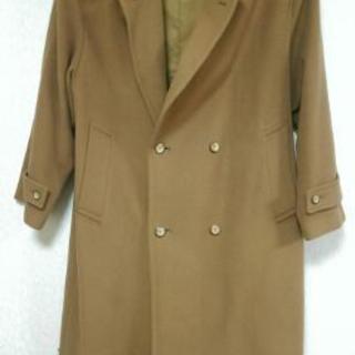 Lサイズ カシミア キャメルカラー メンズコート