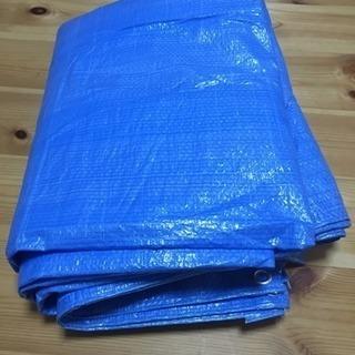 ブルーシート 5m×3.5m 薄いタイプ