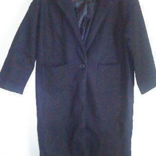 チェスターコートブラック、ブラウス(Yシャツ)白未使用