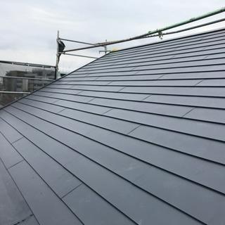 屋根屋  (板金工事)長尺屋根 スレート屋根
