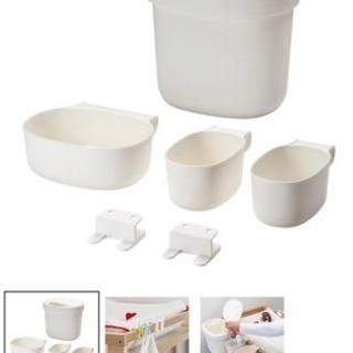IKEA ベビーベッド用収納セット【お値下げしました!】の画像