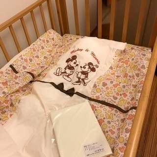 【近隣なら無料配送】KATOJIベビーベッド&寝具セット