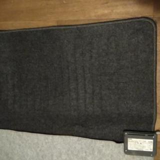 ホットカーペット2畳用(ブラック、カバーなし)