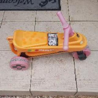 幼児用3輪車