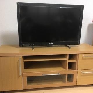 テレビ台(比較のため32インチテレビを置いています)