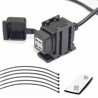 バイク USB電源 充電器 3.1A USB2ポート