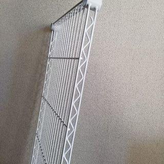 メタルラック棚板、白色