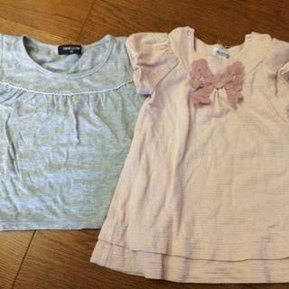 90サイズの夏服、2着