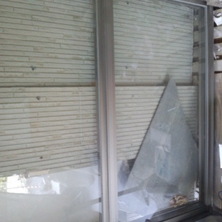 ハメ殺し透明窓 木枠あり DIYにいかがですか?