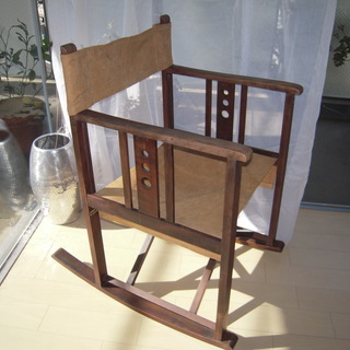 超希少コレクション ★山葉文化椅子★ 意匠登録1号タグあり ★ロ...