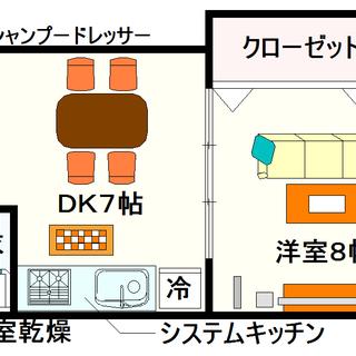 【ロジュマン浪速】2号タイプ!1LDKタイプ!駐車場付きの物件ですね☆