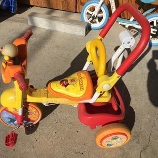 アンパンマン三輪車 折りたたみできます