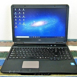 💗15.6型/高性能🆙i5/光速☆彡SSD120GB保証付き/M...