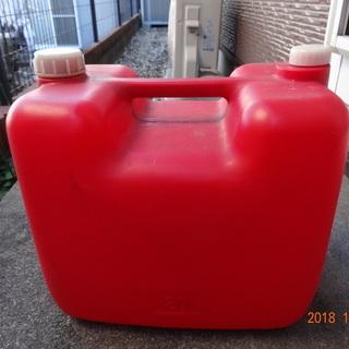 石油ポリ缶20ℓ入れ/panasonic給油ポンプ1本