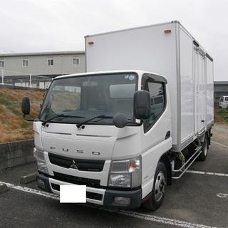H25 三菱ふそう キャンター ロング箱車 2トン積み 車検31年...