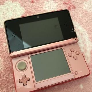 ニンテンドー3DS ピンク