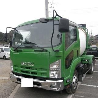 H26 いすゞ フォワード ミキサー車 最大積載量3630㎏ 車検...