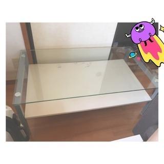 【値下げしました】ガラステーブル【28まで】
