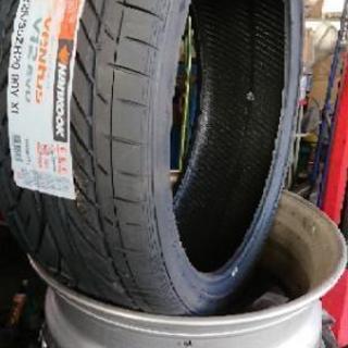 持ち込みタイヤの組換え 対応します。