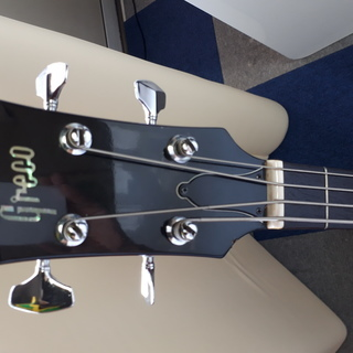 Greco EB-420 SG BASS CHERRY RED