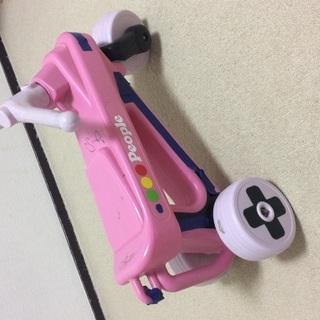 ピープル people 子供 乗り物 ピンク バイク 家の中でのみ使用