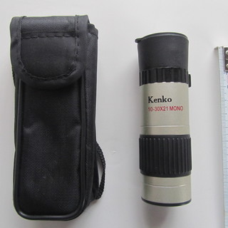 ケンコー 10-30X21 MONO 10-30倍単眼鏡 新品同様