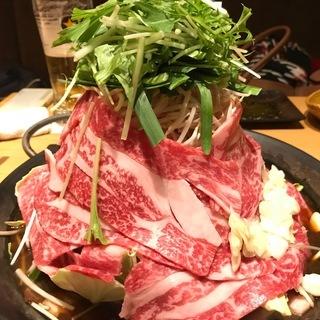 1月25日(金)大人気!恵比寿大人の隠れ家で黒毛和牛鉄板鍋を味わう!
