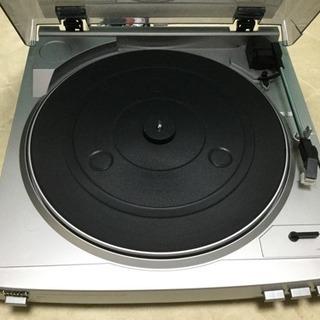 【取引完了】【中古】レコードプレーヤー aiwa PX-E860