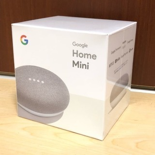 Google Home mini 新品 チョーク mac