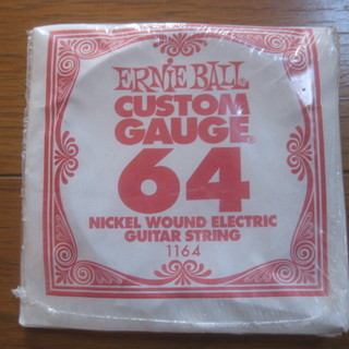 Ernieball Custom Gauge 64 エレキ ギタ...