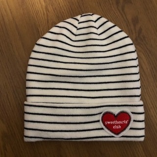 H&M ボーダーニット帽