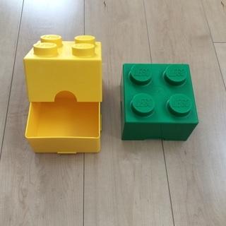 レゴ ブロック型   ランチボックス   2個セット