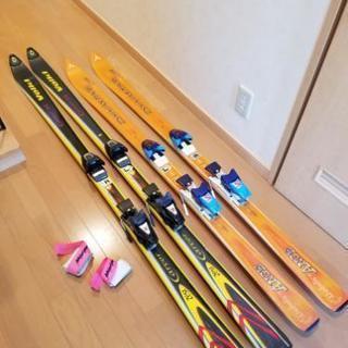 カービング スキー板 1組 2,000円