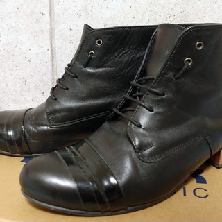 Leather boots (Handmade in Chile...